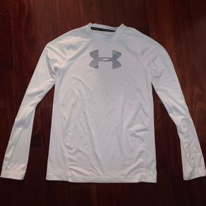 White Under Armour Top